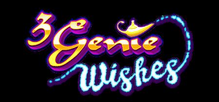 3 Genie Wishes Slot Logo