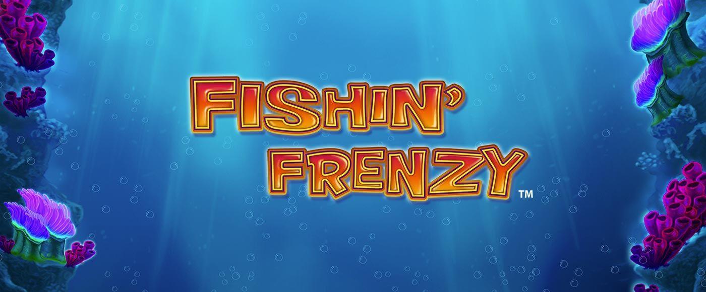fishin frenzy slot logo umbingo